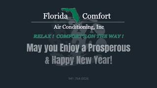 Florida Comfort Air Conditioning Happy New Year 2020 Message