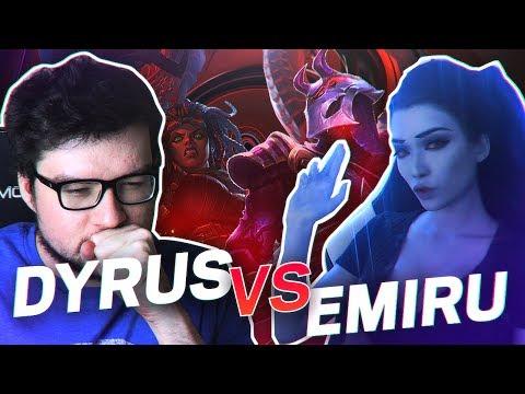 DYRUS | PLAYING AGAINST MY GIRLFRIEND EMIRU