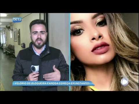 Família atende pedido da blogueira Nara Almeida e autoriza doação de córneas