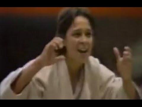JUDO 1983 Pan American Games: AnnMaria Burns USA  Natasha Hernandez VEN