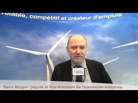 Denis Baupin à la veille de la Cop21 pour France Energie Eolienne