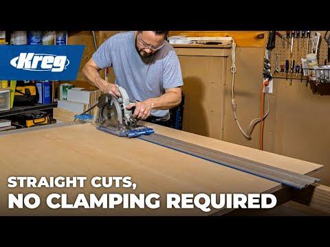 415mm precision circular saw edge guide rail track woodworking.