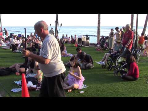 crowd-getting-ready-for-luau-dancers-show