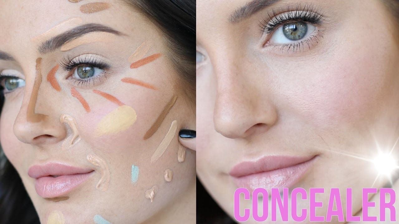 how to apply concealer on face