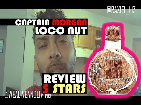 CAPTAIN MORGAN LOCO NUT REVIEW | 5 STARS | VEGAN