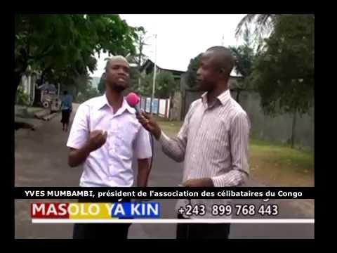 MASOLO YA KINSHASA NA PRESIDENT  DES CELIBATAIRES DU CONGO