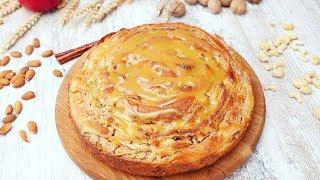 Яблочный пирог с карамелью - Рецепты от Со Вкусом