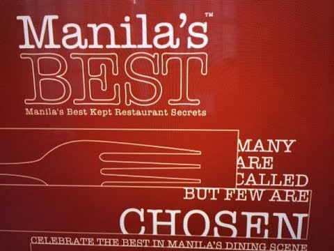 Manila's Best Restaurants 2014 Award Ceremony Party Enderun Colleges by HourPhilippines.com