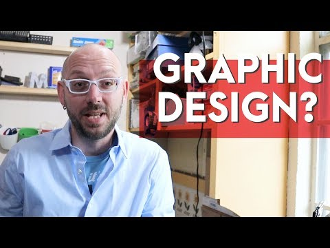 Should I Become a Graphic Designer? What if I'm not Talented or Creative? What if I can't Draw?
