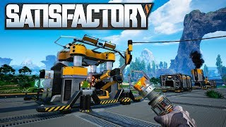 🏭 Satisfactory 06 | Vollautomatische Produktion | Gameplay German Deutsch thumbnail