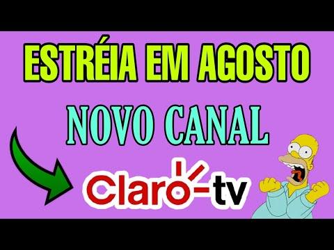 NOVO CANAL ESTRÉIA NA CLARO-TV EM AGOSTO, VEJAM😍