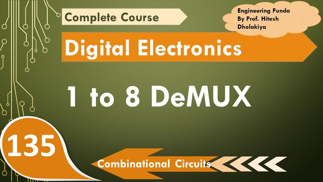 1 To 8 Demultiplexer Working Truth Table Boolean Expression And Circuit Youtube