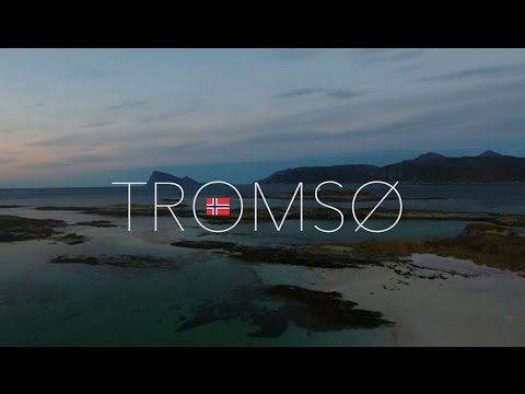 Sommarøy in October 2016, Tromsø Norway. DJI Phantom 4