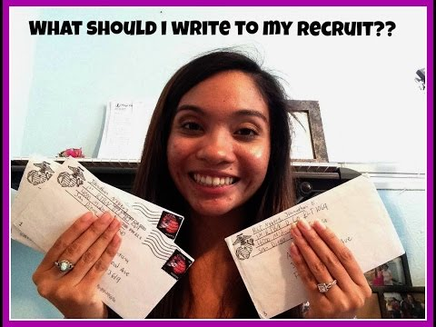 TIPS AND ADVICE ON SENDING LETTERS TO YOUR MARINE RECRUIT