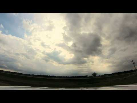 2015 06 02 Weather Chase Timelapse- Fargo to Jamestown to Pingree ND