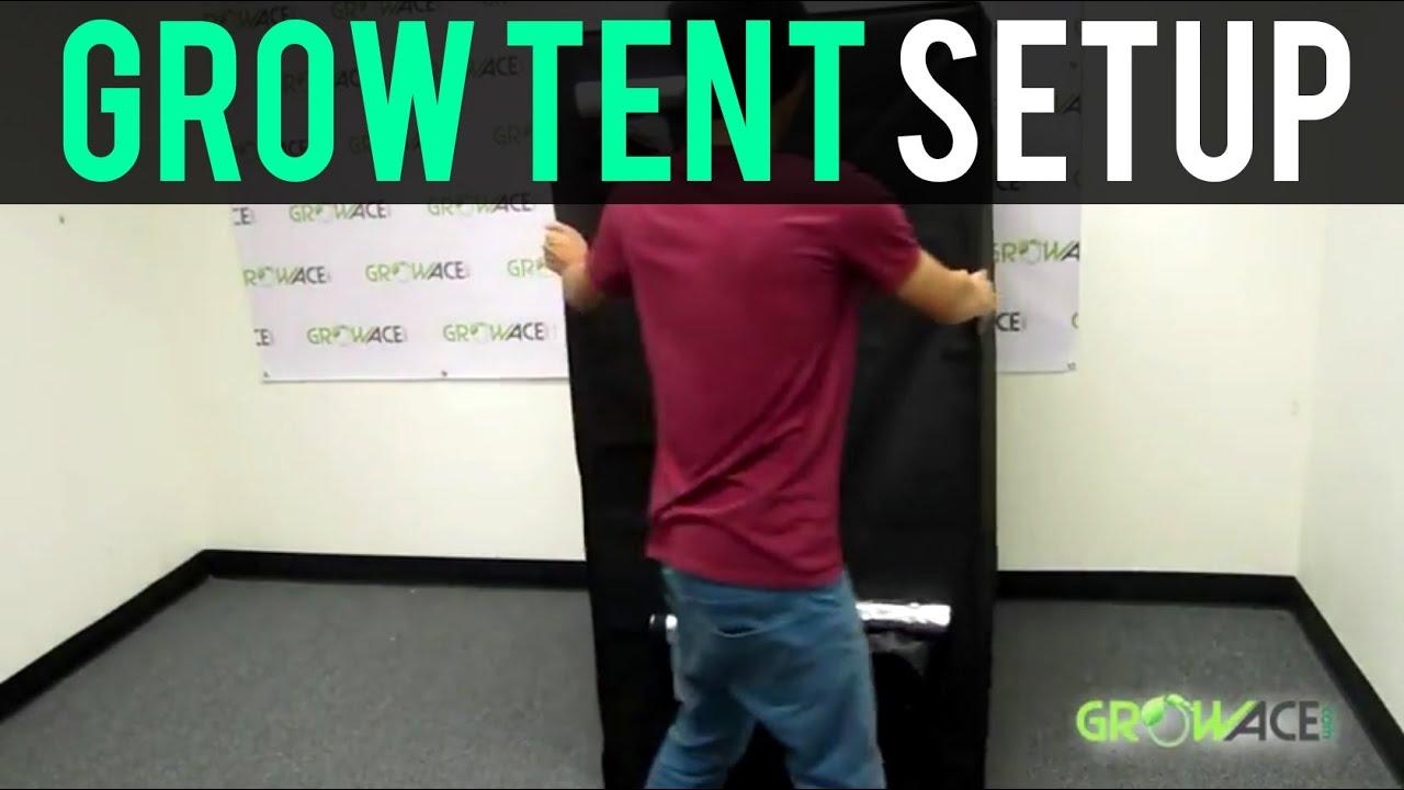 & GrowAce.com - Grow Tent Setup Hydroponics GrowAce.com - YouTube