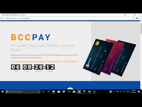 Bitconnect $100 Investment & Reinvestment Tutorial | Free Ledger Nano S