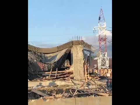 В  Сочи рухнула часть строящегося здания 30.10.19