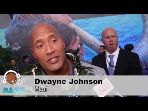 "Disney's MOANA premiere - Voice of ""Maui"", DWAYNE ""THE ROCK"" JOHNSON"