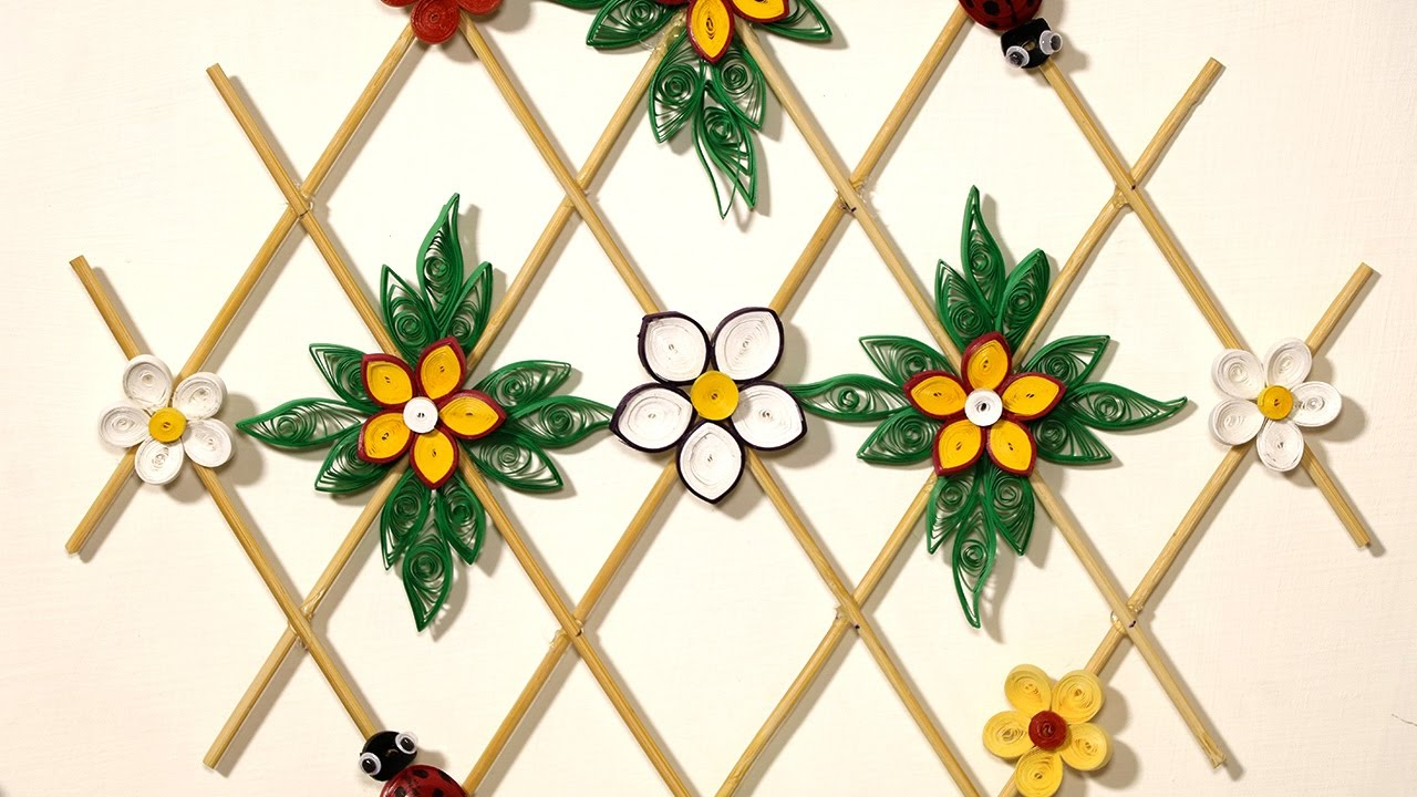 Paper Quilling DIY Wall Decor - Quilling Paper Hanging for ...
