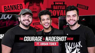 Jordan Fisher Reacts to Faze Jarvis Ban & China's New Gaming Law - The CouRage and Nadeshot Show #13