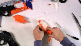Nerf Zombie Strike Hammershot Modification