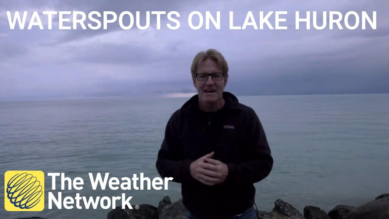 Lake Huron could develop waterspouts and severe thunderstorms