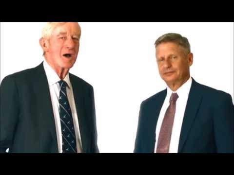 "Gary Johnson / William Weld Political Ad: ""Are #youin?"" [HD Quality]"
