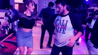 Juan Juárez + Yared Martinez // Cumbia Social Dance // 2015 Reno Latin Dance Festival