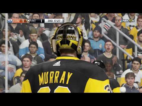 NHL 18 PS4 Season Game  Edmonton Oilers vs Pittsburgh Penguins  10 24 2017