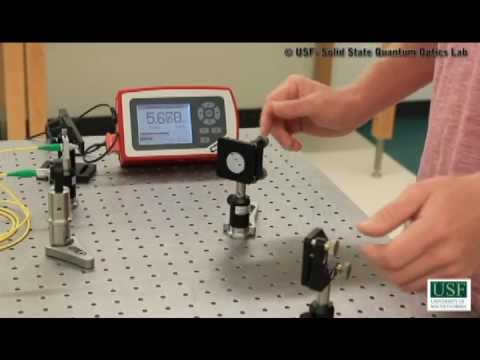 Coupling a LASER into a single mode fiber
