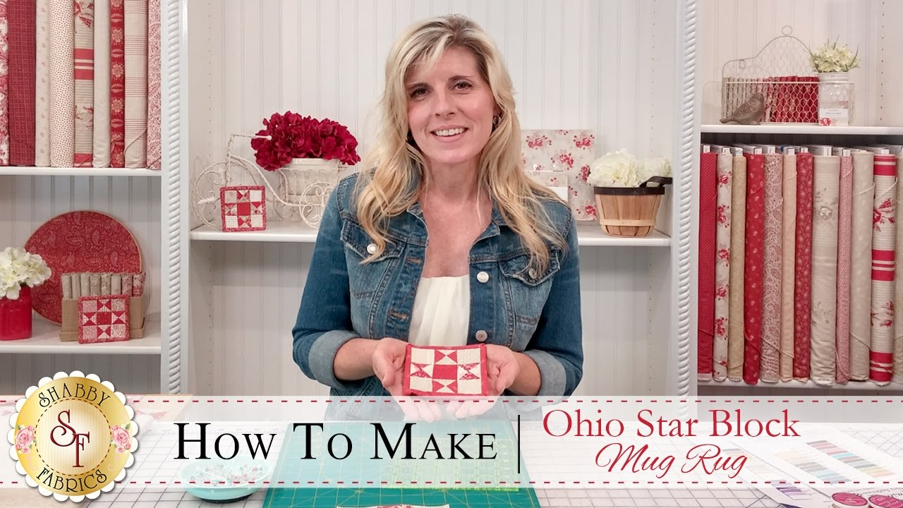 Mug Rug Patterns How To Make