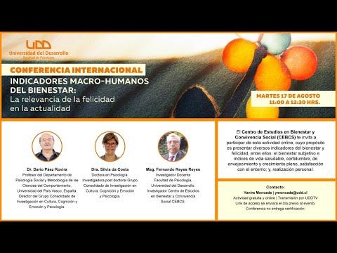 Conferencia sobre Indicadores macro-humanos del bienestar: La relevancia de la felicidad