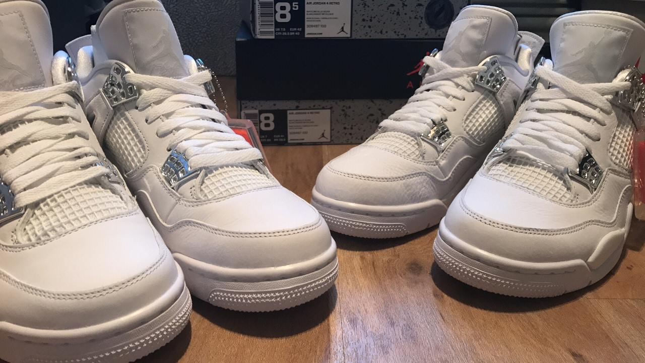 Jordan 4 pure money (Quality Issues