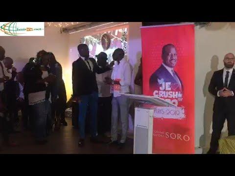 Côte d'Ivoire-Guillaume Soro rencontre ses partisans à Paris