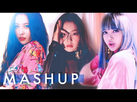 RED VELVET X BLACKPINK Sunmi - Peek-A-Boo / Whistle / Gashina (Picard Unit / Peluit / Gasina) Mashup