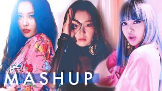 RED VELVET x BLACKPINK x SUNMI – Peek-A-Boo /Whistle /Gashina (피카부 / 휘파람 / 가시나) MASHUP