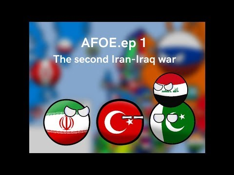 Alternate future of europe ep.1 the second Iran-Iraq war/100 subs special