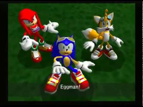 Sonic Riders WHAT IS THIS ?! Part 1