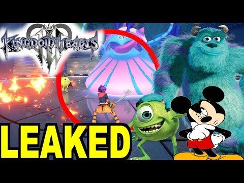 Kingdom Hearts 3 News: Monsters Inc World Leaked ?