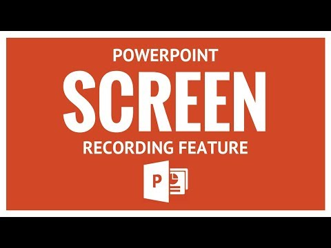 PowerPoint Screen Recording Feature