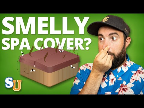 How to Get Rid of SPA COVER Odor | Swim University