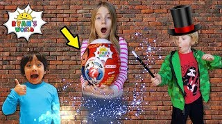 I Mailed Myself to Ryan Toysreview with Magic Portal for Giant White Egg and it worked!! Skit