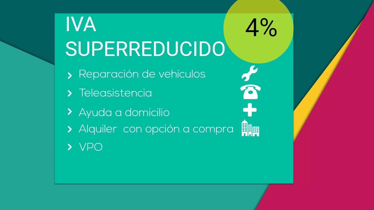 a2c0720fbf Tipos de IVA en España (año 2019) - Rankia