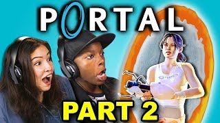 KILLER POOP WATER!?   PORTAL - Part 2 (React: Let