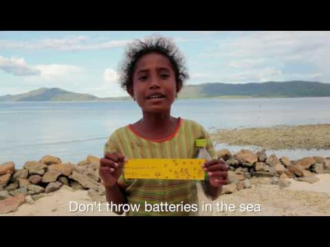 Message Me - Marine Conservation Project - Part 1 - Raja Ampat Indonesia