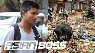 What Do Indians Think Of Their Trash? | ASIAN BOSS
