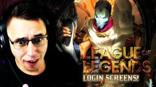 I FINALLY watched EVERY League Of Legends login screen PART 2
