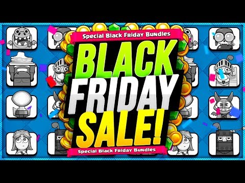 BLACK FRIDAY SALE in CLASH ROYALE! HOW DOES IT WORK?