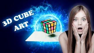 3D Cube Art